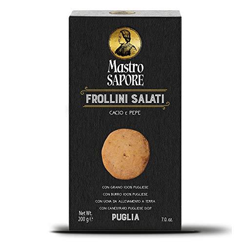 Mastro Sapore - Frollini Kekse Mit Käse Und Pfeffer, 200g