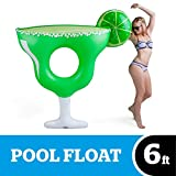 BigMouth Inc Giant Inflatable Margarita Pool Float, Durable Fun Summer Pool Tube with Patch Kit Included