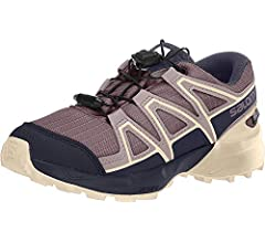 Salomon Speedcross CSWP J, Zapatillas de Trail Running Unisex Niños, Morado (Flint/Evening Blue/Bellini), 31 EU: Amazon.es: Zapatos y complementos