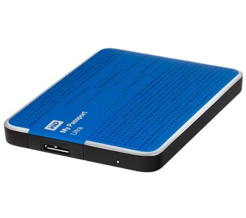 WESTERN DIGITAL My Passport Ultra WDBMWV0020BBL - 2 to - Bleu - Disque Dur Externe Portable.