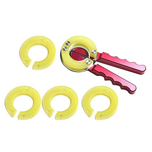 Fenteer Extractor de Bucles de Inserción de Bisel de Reloj para Espejo de Vidrio, Herramienta de Relojero de Repuesto
