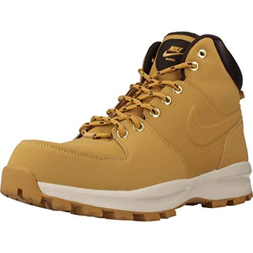 Nike Manoa Leather, Zapatillas Altas Hombre, Marrón (Haystack/Haystack/Velvet Brown 700), 46 EU