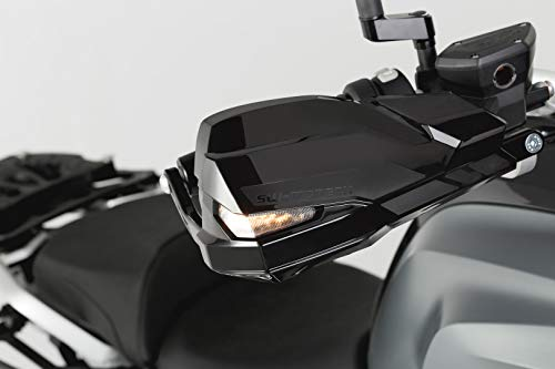 SW-Motech Kobra Motorrad Handprotektoren Paar mit Aluminiumrahmen