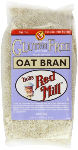 Bob's Red Mill Pure Oat Bran Gluten Free 400 g (Pack of 4)