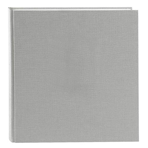 Goldbuch Album Photo Summertime Trend 2 30 x 31 cm 60 Pages Blanches avec Feuilles de pergamine en Lin Gris 27 606 60 cm