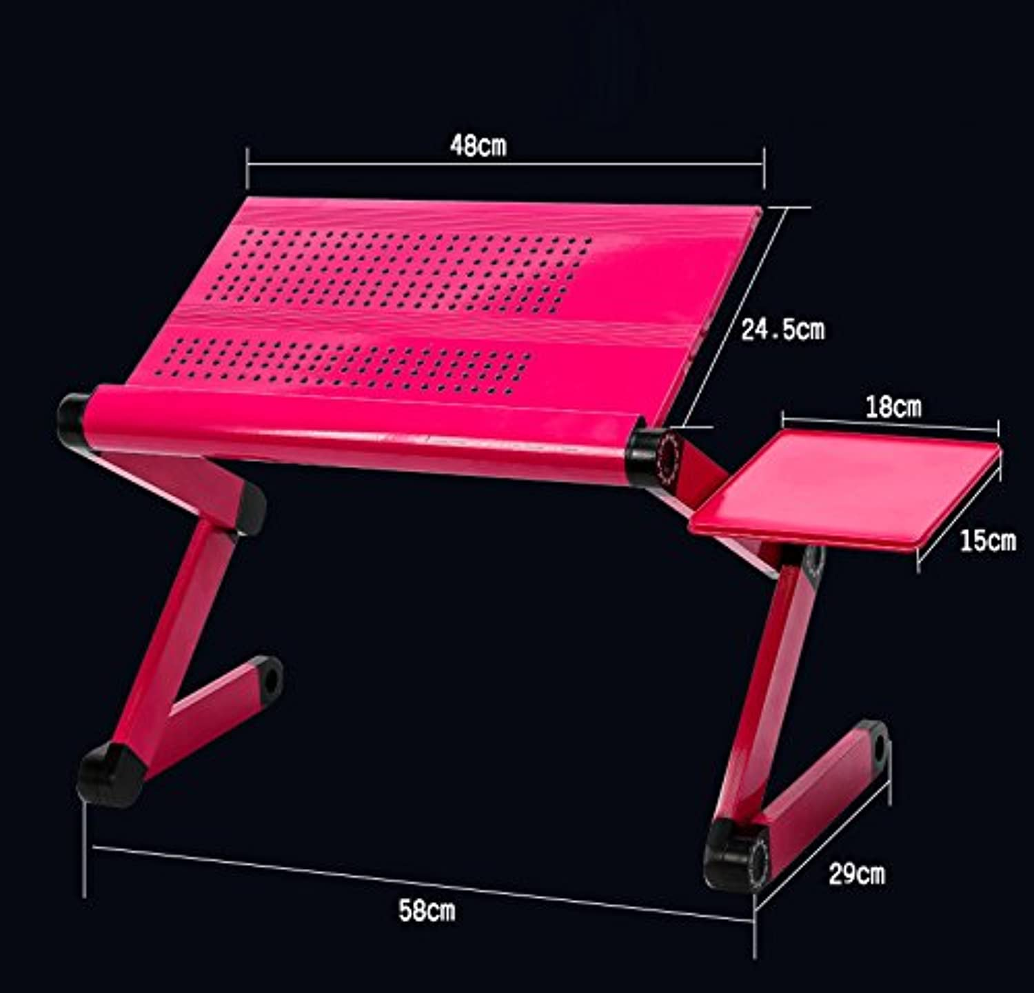 Qiaoba- The Couch fold Desk Aluminum Alloy Notebook Lapdesk I,