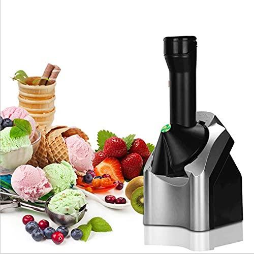RENSHUYU Tragbare Eismaschine, Obst Softeis Eismaschine EIN Knopf Start, Frozen Yoghurt Maschine Eismaschine für Gefrorene Früchte Sorbet Maker