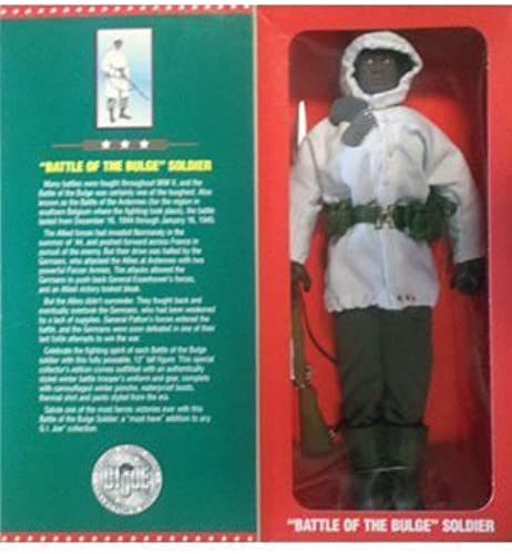 GI Joe Battle of the Bulge Soldier 12  figure African american by Hasbro