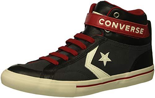 Converse Lifestyle PRO Blaze Strap Hi, Scarpe da Ginnastica Basse, Nero (Almost Black/Egret/Turtledove 049), 31 EU