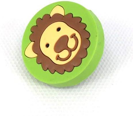 Bargain sale 1x Children's Storage Closet Knobs Cartoon Rubber Dr Handle Ranking TOP17 Soft
