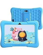 Dragon Touch キッズタブレット 子供用タブレット タブレット Android10.0 RAM2GB/ROM32GB 7インチ 目に優しい Wi-Fiモテル HDディスプレイ KIDOZ対応 GPS付き 学習/オンライン授業/子供プレゼントに適用 子供向け Y88X (ブルー)