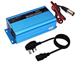 Tesure 24V 5Amp Smart Automatic Battery Charger, Portable Battery Maintainer With XLR Connector for Car Boat...