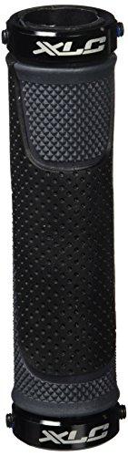 XLC Bar Grips - Poignées à vis - Noir/Gris poignee Velo