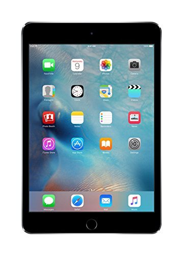Apple iPad Mini 4 WiFi 16GB Space Grey (Renewed)