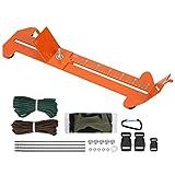 01 Brazalete DIY Jig, Robusto Operación Simple Conveniente Aleación de Aluminio Paracord Jig, Exterior para Paracord