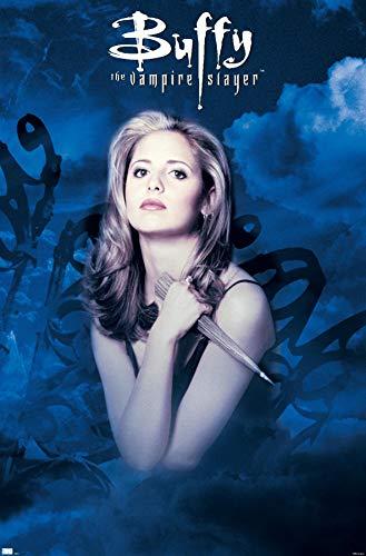 "Trends International Buffy The Vampire Slayer - Season 1 One Sheet Wall Poster, 14.725"" x 22.375"", Premium Unframed Version"