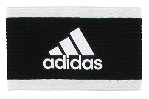 adidas Unisex Captain's Armband, Black/White, ONE SIZE