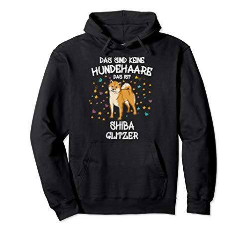 Shiba Inu Glitzer Akita Hundehalter Geschenk Gassi Hunde Pullover Hoodie