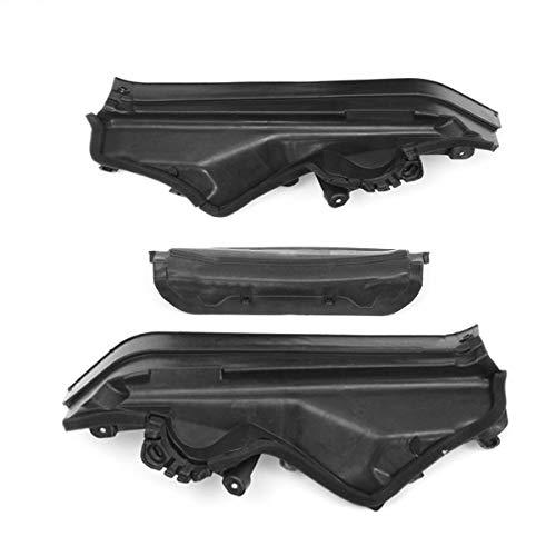 3pcs Engine Upper Compartment Partition Panel Fit For BMW X5 X6 E70 Set SC-51717169420