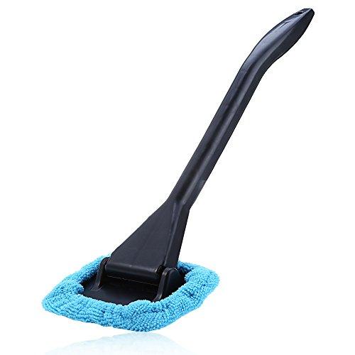 TrifyCore T20132 Limpieza del Parabrisas rápida y fácil de Brillar Conveniente Coche limpiaparabrisas automático Cepillo de Cristal para Ventana (Azul)