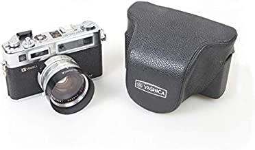 Yashica Electro 35 GSN 35MM Film RANGEFINDER Camera New Battery W Adapter + Hood + Filter + HOTSHOE Cover