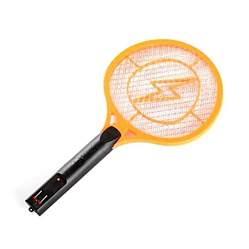 LavoHome Rechargeable Bug Zapper Zaps Racket Fly Swatter Mosquito Killer - Best Indoor & Outdoor Pest Control 1.2V Batteries