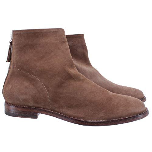 MOMA dames laarzen 1CS024-OL Oliver Taupe suède beige