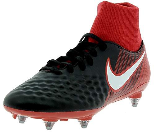 Nike - Nike Magista Onda II Df Gs Scarpini Calcio Uomo Neri Rossi - Schwarz, 42