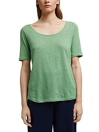 ESPRIT Mit Leinen: Basic T-Shirt