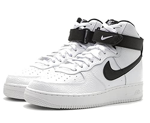 Nike Air Force 1 High '07, Zapatillas de básquetbol Hombre, White/Black, 42 EU