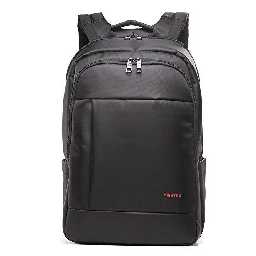 Tigernu Rucksack, Laptop-Tasche, für 17-Zoll-Laptop, einzigartig, wasserdicht, Diebstahlschutz, Reißverschluss, Schule, Büro