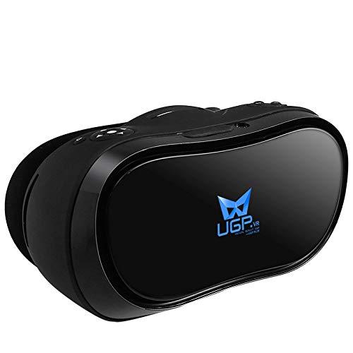 FuLov VR Headset 4D Todo En Uno Montado En La Cabeza Gafas Realidad Virtual Pantalla 4K PC/TV Equipo De Máquina De Juego Conversión De Visualización De 360 ° para Juegos, Películas