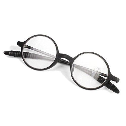 レトロ丸型メガネ