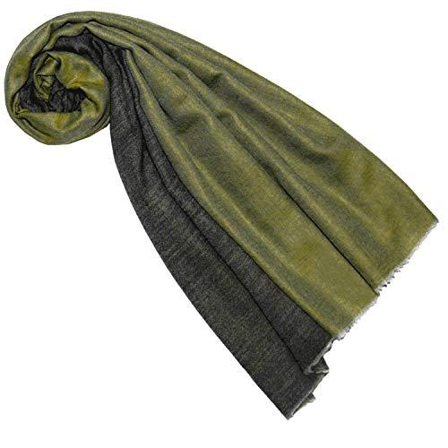 LORENZO CANA Luxus Schal Wendeschal Schaltuch 100% Kaschmir Kaschmirschal Kaschmirtuch Damenschal Gewebt Zweifarbig 7850577