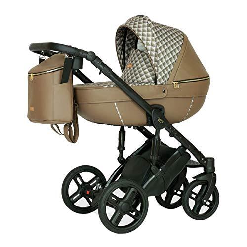 Krausman Kinderwagen 3 in 1 Nexxo Beige LIMITED Kombikinderwagen Babyschale Babywanne Sportwagen Design Made In Germany