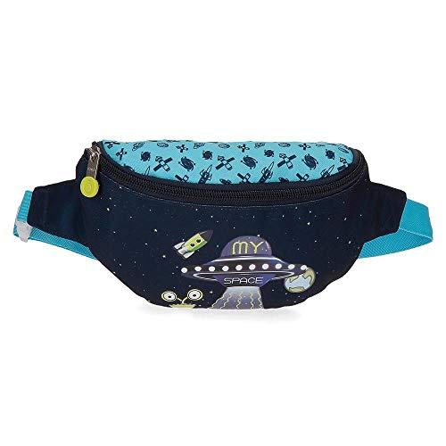 Enso My Space Riñonera Azul 27x11x6,5 cms Poliéster