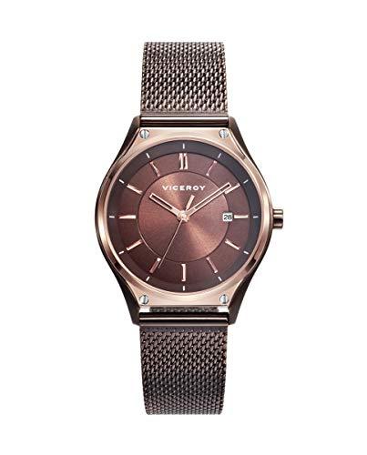 Reloj Viceroy para Mujer con Correa Marron y Pantalla en Marron 471190-47