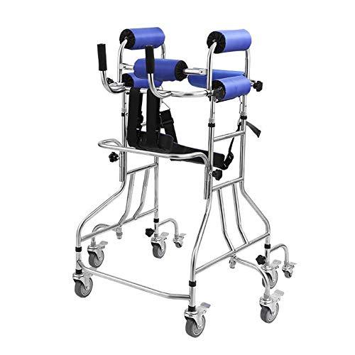 Faltbare Höhenverstellbare Sitzruhe Erwachsene Wanderer Ältere Walker Compact Elderly Walking Mobility Aid Für Handicap Lightweight Foldable