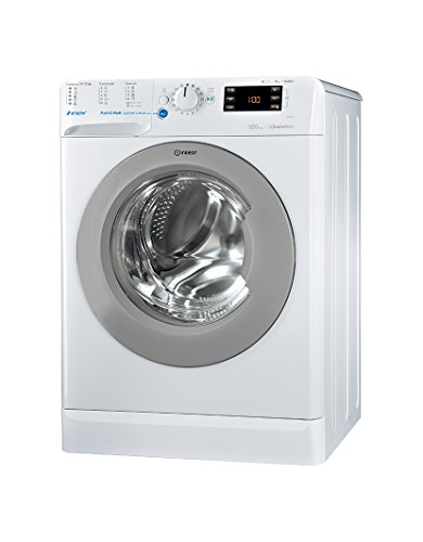 Indesit BWE 81284X WSSS EU Independiente Carga frontal 8kg 1200RPM A+++ Blanco - Lavadora (Independiente, Carga frontal, Blanco, Botones, Giratorio, Izquierda, Acero inoxidable)
