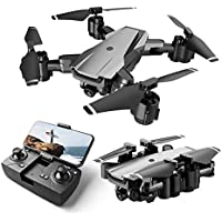 HR Quadcopter RC Drone with 1080p Camera, 5g Wifi Fpv Real Time Transmission, Gesture Selfie, Altitude Hold