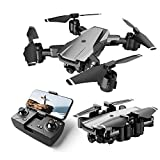 Drones With 1080p Hd Camera,5g Wifi Fpv Real Time Transmission,Gesture Selfie,Altitude Hold,Foldable Quadcopte Drone For Adults Kids And Beginners