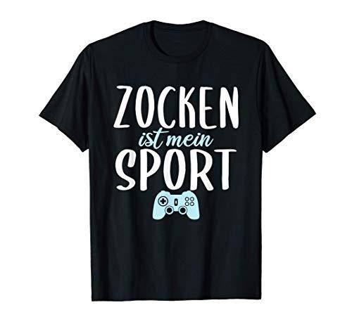Zocken Ist Mein Sport Gaming Video Games Geschenk Online T-Shirt