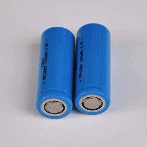 JLNG 3.2V 18500 Rechargeable Lithium Battery IFR LifePO4 Cell 1200 MAH for Electric Electric Sunbike Tools-4 Pieces-2 Pieces-2 Rooms
