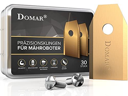 DOMAR® - Langlebige Mähroboter Messer...