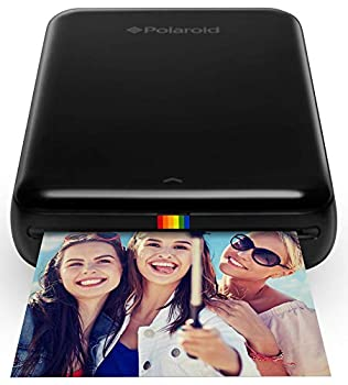 Zink Polaroid ZIP Wireless Mobile Photo Mini Printer  Black  Compatible w/ iOS & Android NFC & Bluetooth Devices