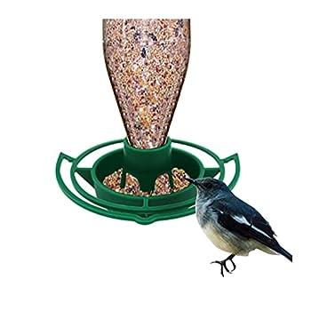 XNBZJ GRATURE D'ŒIL 1PC Bol en Plastique Suspendu Automatique pour Perroquet Pigeon Pet Outdoor Pet Outdoor Pet Fournitures d'alimentation (Color : As The Picture Shown, Size : 1Pc)