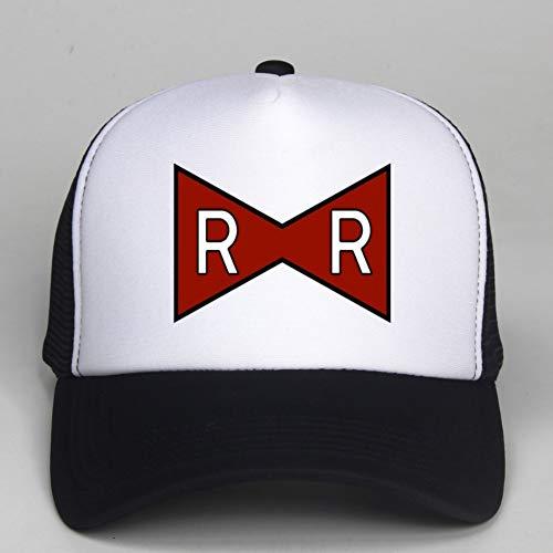 Baseballmütze Trucker Cap RR Baseball Cap Red Ribbon Army Zarter Druck für Männer Mode Trucker Hut Hut Knochen