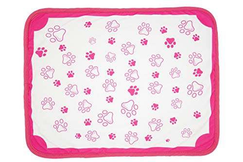 """Bently & Bella Pet Training and Puppy Pads - Washable, Leak-Proof, Environmentally Friendly (Large (25"""" x 29""""), Pink)"""