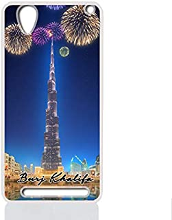 IMPRESS SONY XPERIA T2 ULTRA Hard Case with Burj Khalifa Design
