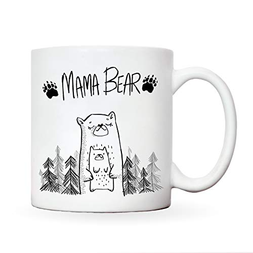 Mummy mug | Mama bear new presents for mum | novelty mugs women from daughter | christmas gift funny present mothers day | best mom mother birthday | step moms mam